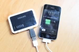 Batterie externe USB