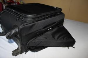 Mon bagage à main dispose d'un sous-sac facile à récupérer
