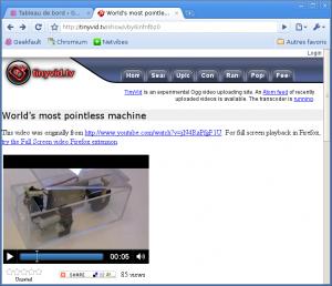 La gestion du tag <video> sous Chromium