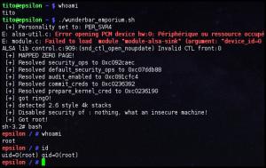 Exploit Wunderbar
